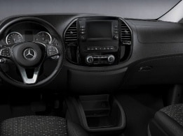 Vito Tourer, пакет Chrom Interieur